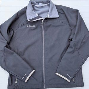 Columbia Black Softshell Midweight Jaclet